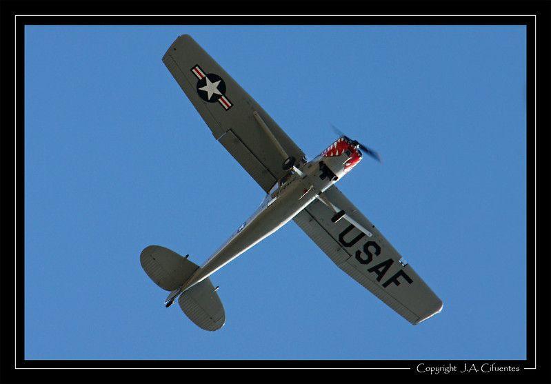 "Cessna L-19 ""Bird Dog""."