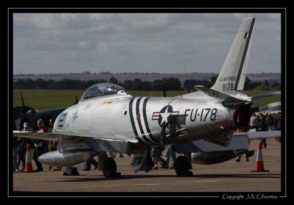 North American F-86A Sabre.