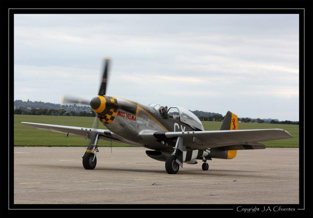 "North American P-51 Mustang ""Miss Velma""."