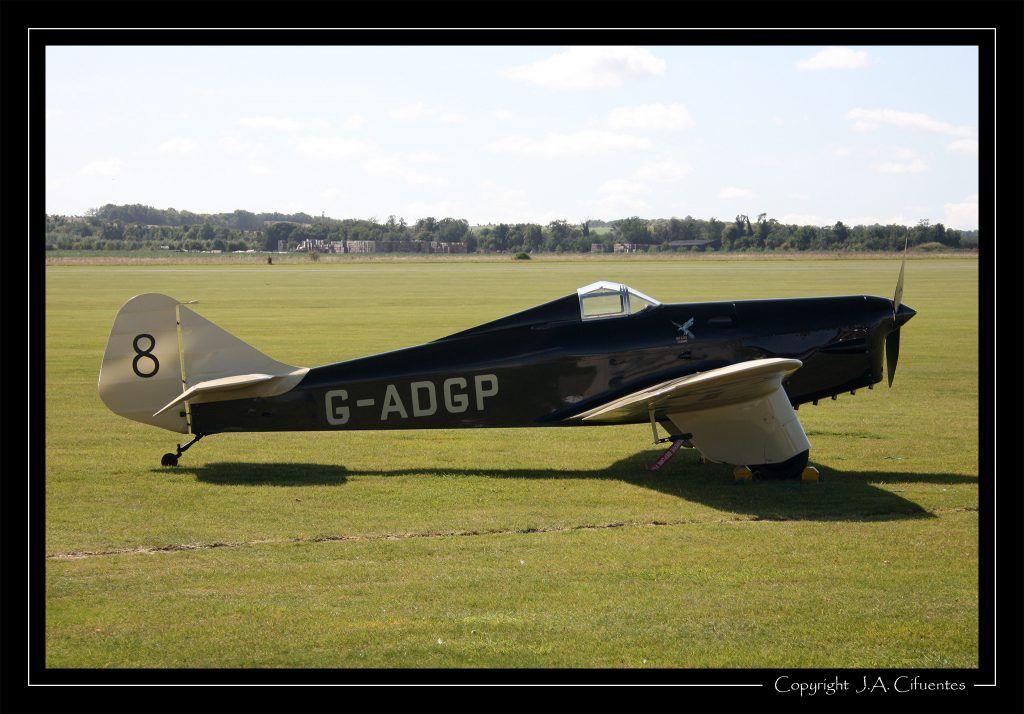 Miles M.2L Hawk Speed Six.