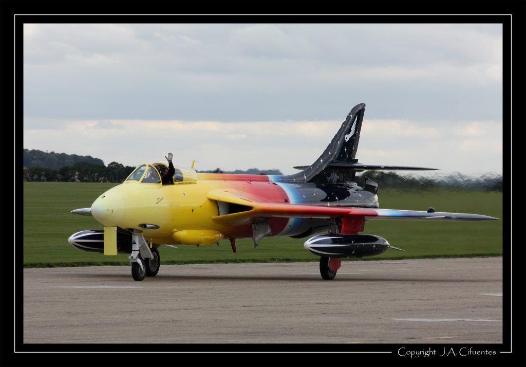 Hawker Hunter F .Mk 58A.