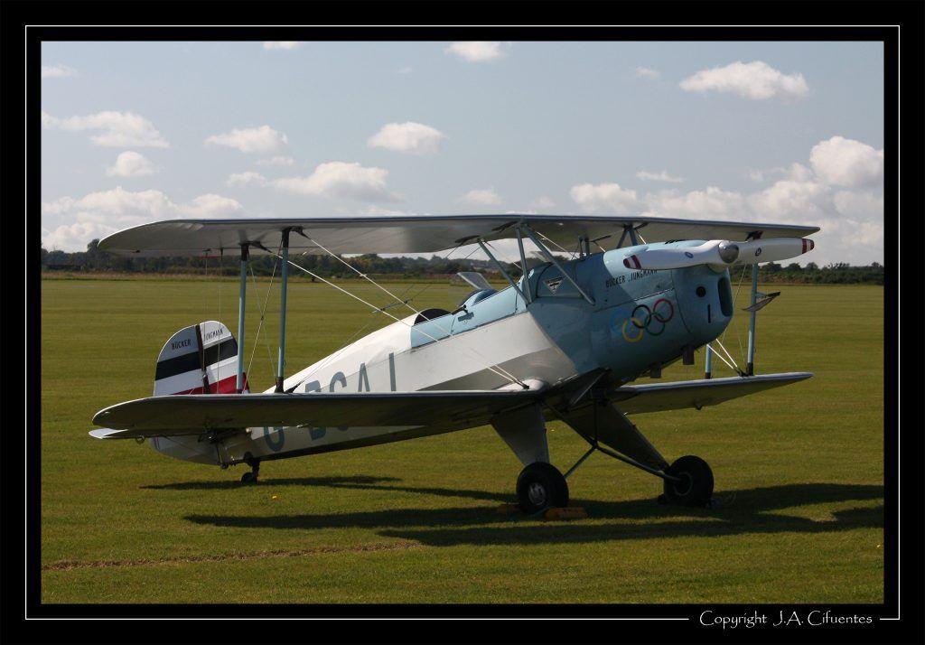 CASA (Bücker) C-1131E Jungmann.