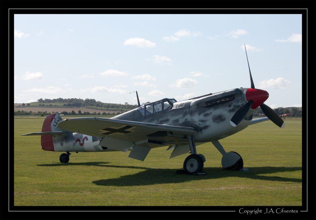 """Hispano Aviación HA-1112 M1L """"Buchon""""."""