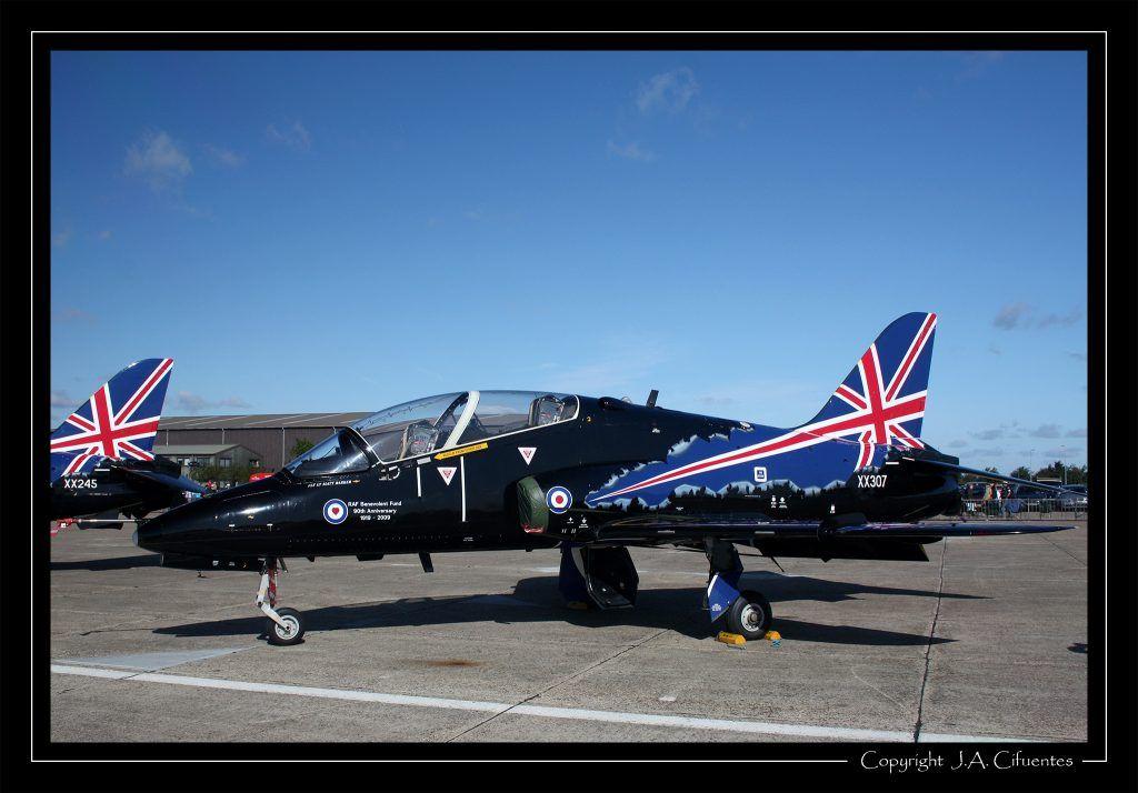 British Aerospace Hawk T1.