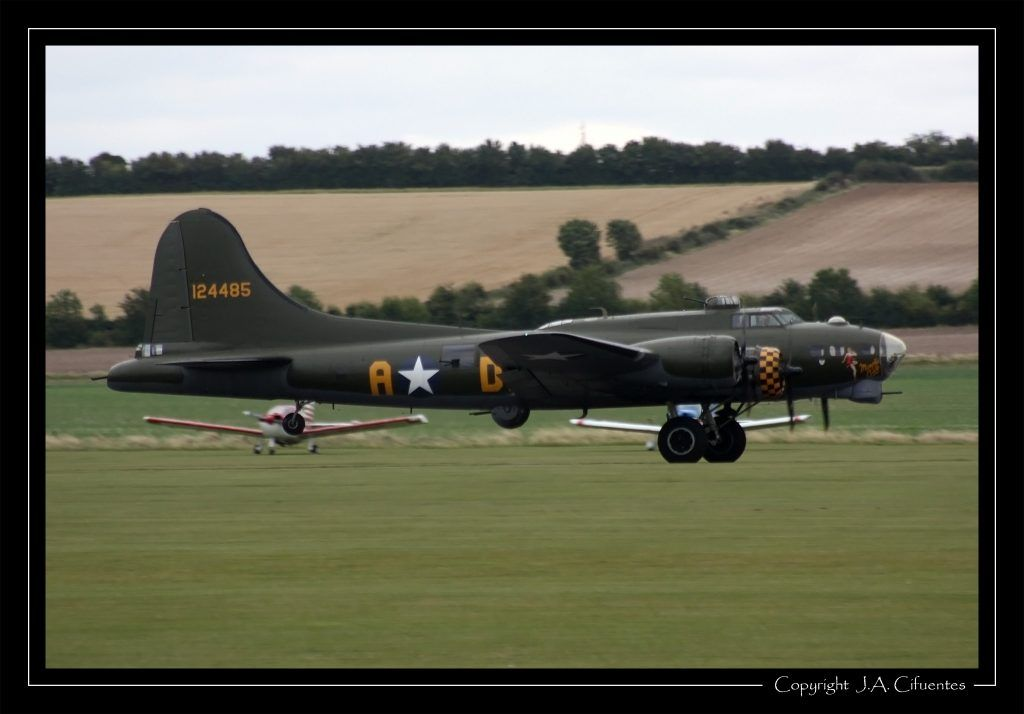 "Boeing B-17G Flying Fortress ""Sally B""."