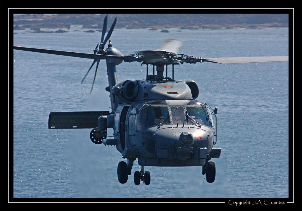 Sikorsky SH-60B de la Armada Española.