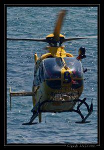Eurocopter EC-135-P2+ (EC-LCN) de TAF Helicopters.