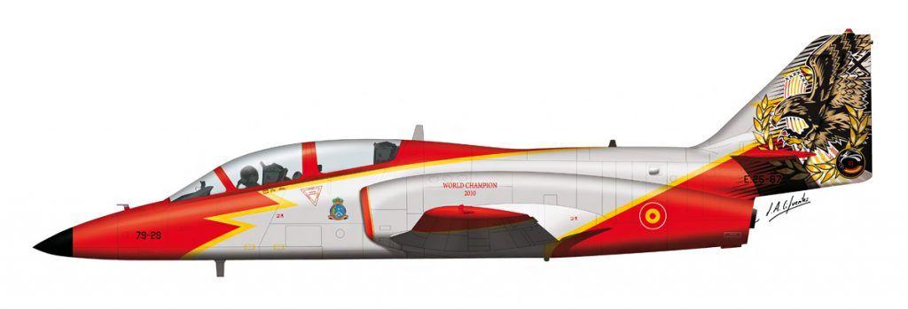 Aviojet Aguila 25 Aniversario