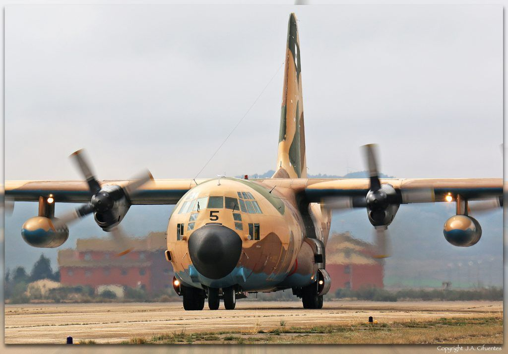 Lockheed C-130 Hércules del Ala 31.