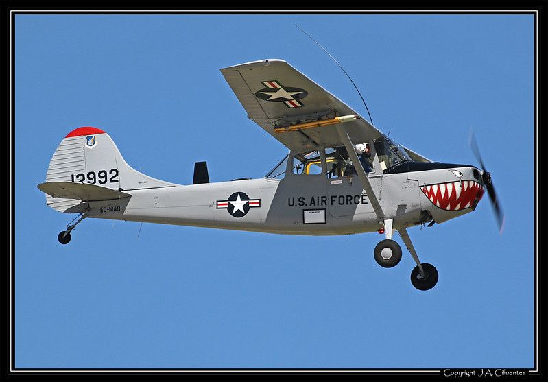 Cessna L-19 «Bird Dog» (EC-MAB).