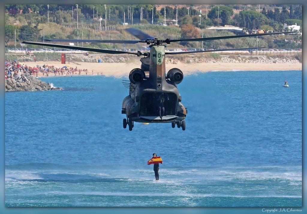 Boeing CH-47 Chinook del Ejército de Tierra
