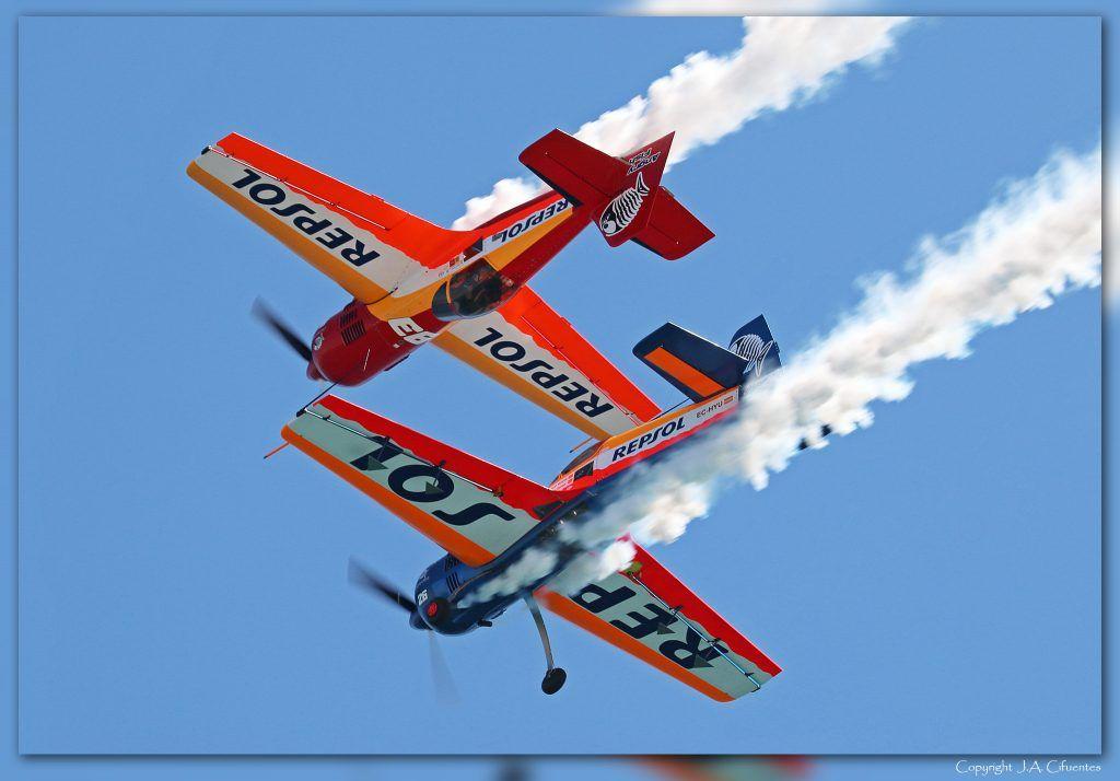 Sukhoi 26 del equipo Bravo 3 Repsol
