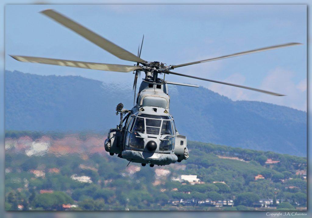 Aerospatiale AS332 Super Puma del 801 Escruadrón del Ejercito del Aire