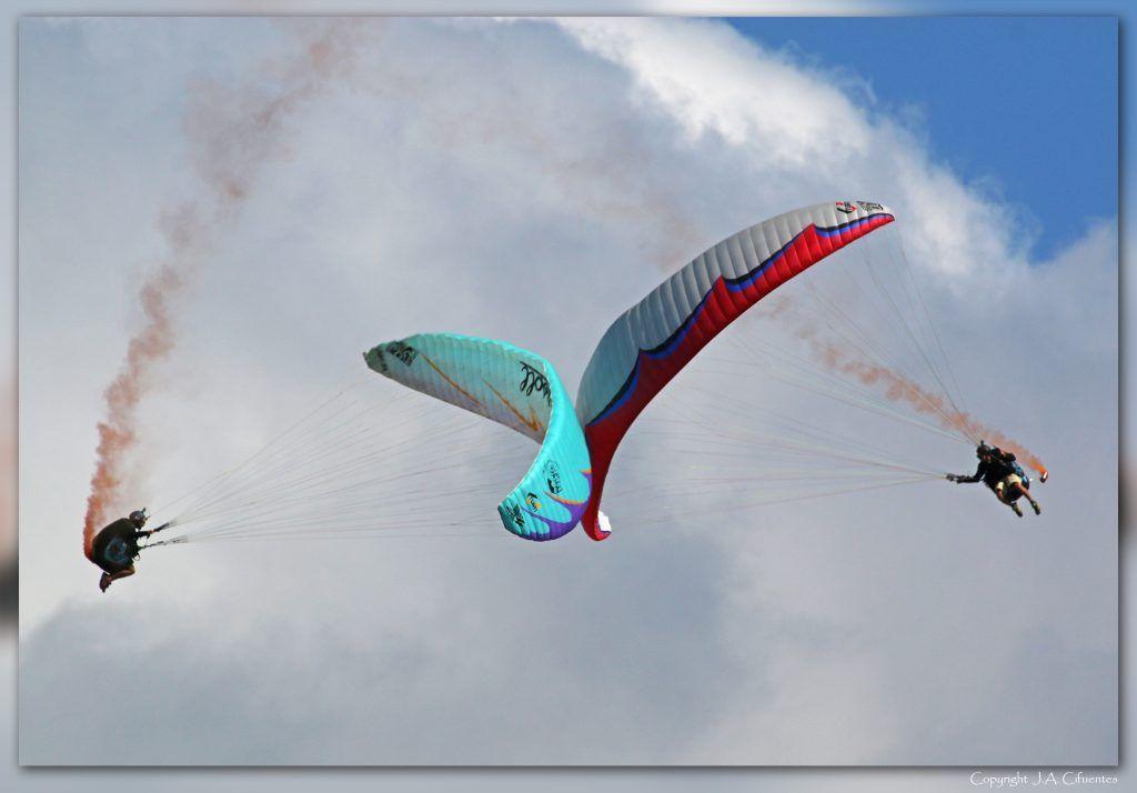 Parapentes acrobáticos