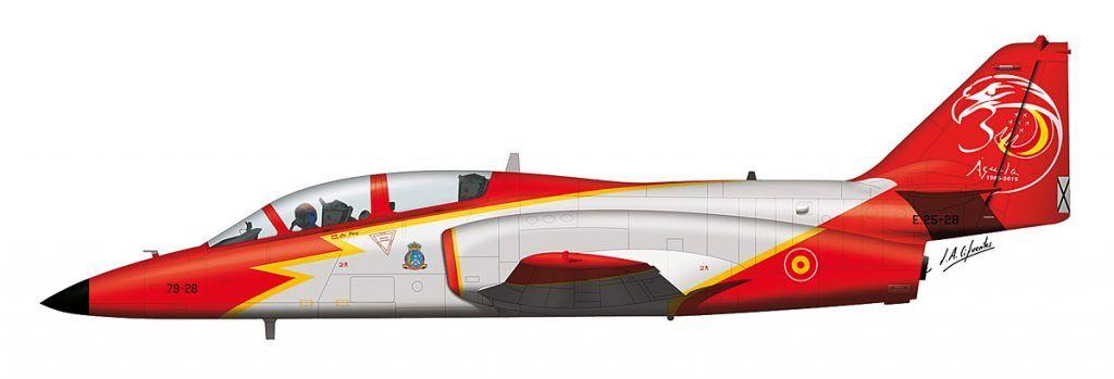 Aviojet Aguila 30 Aniversario