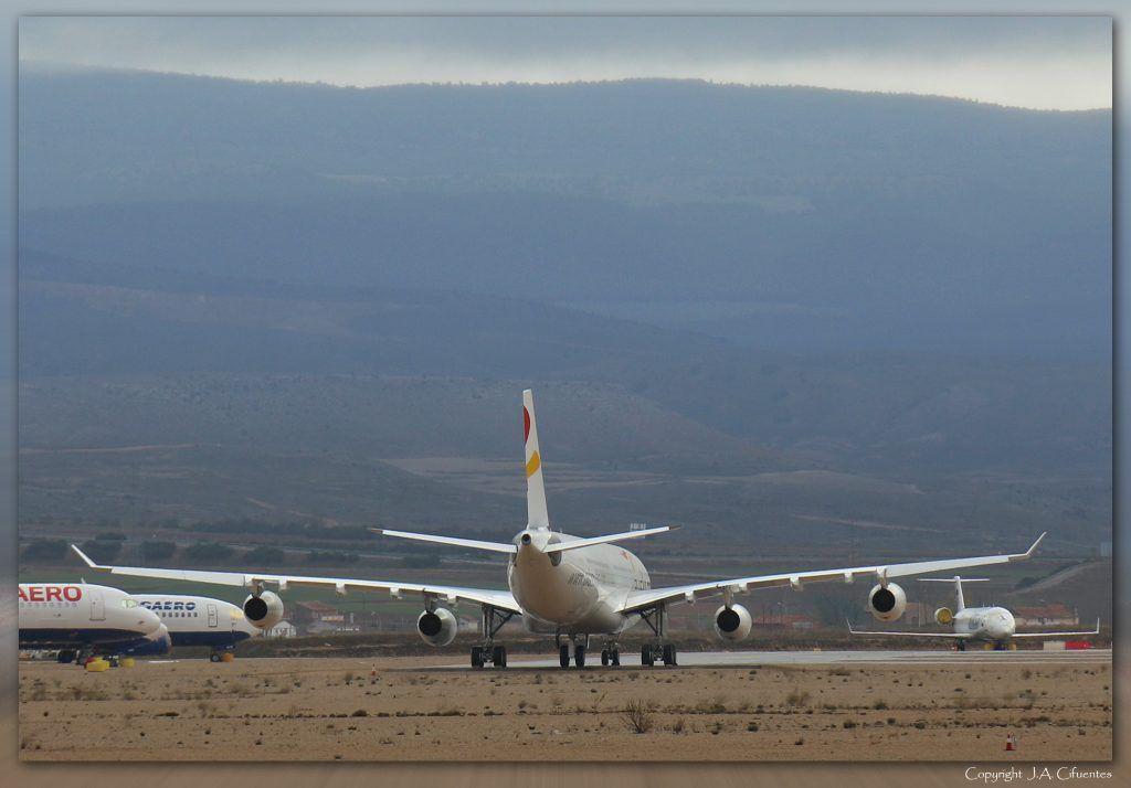 Airbus A340-300 de Plus Ultra Lineas Aereas.
