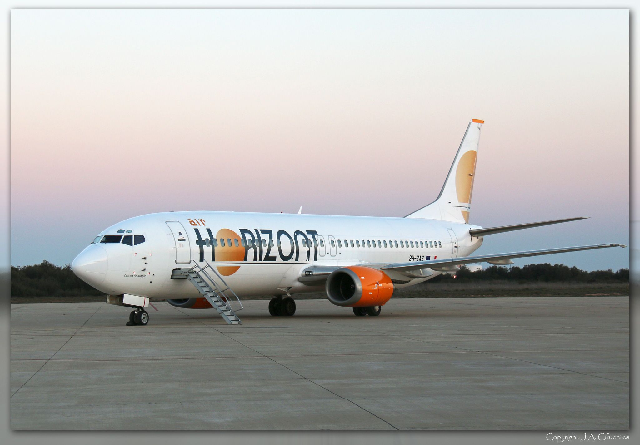 Boeing 737 de Air Horizon – 12/03/2016