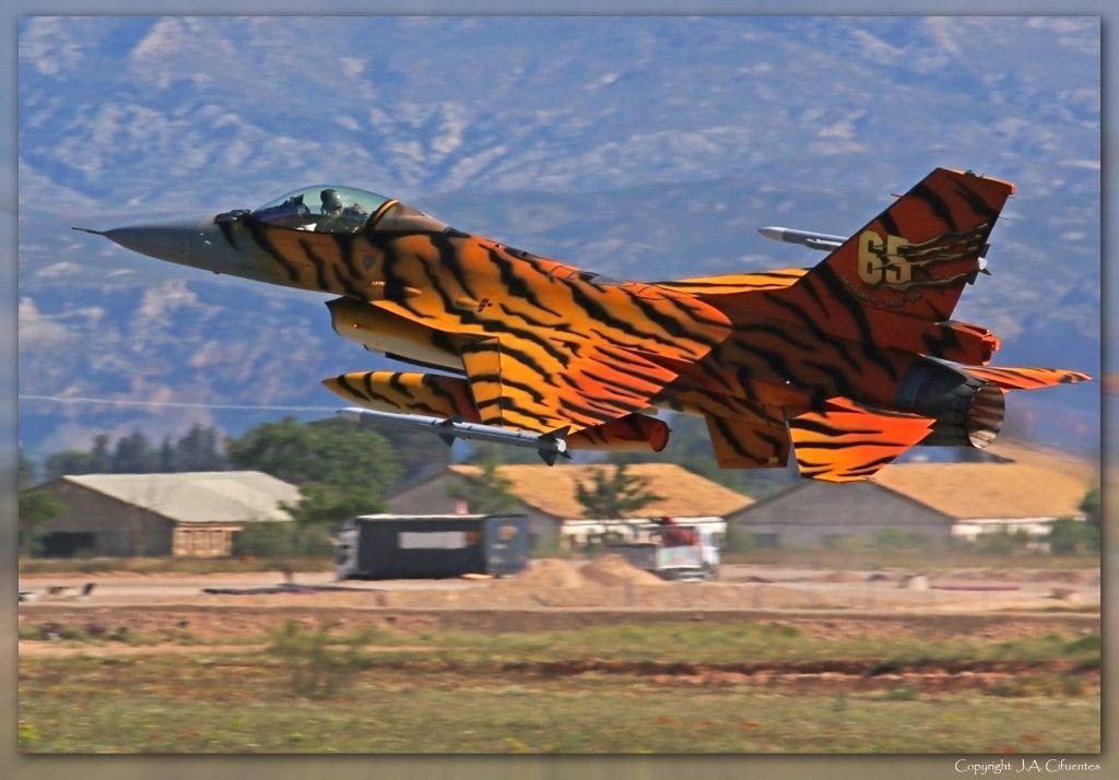 NATO Tiger Meet 2016 en Zaragoza.