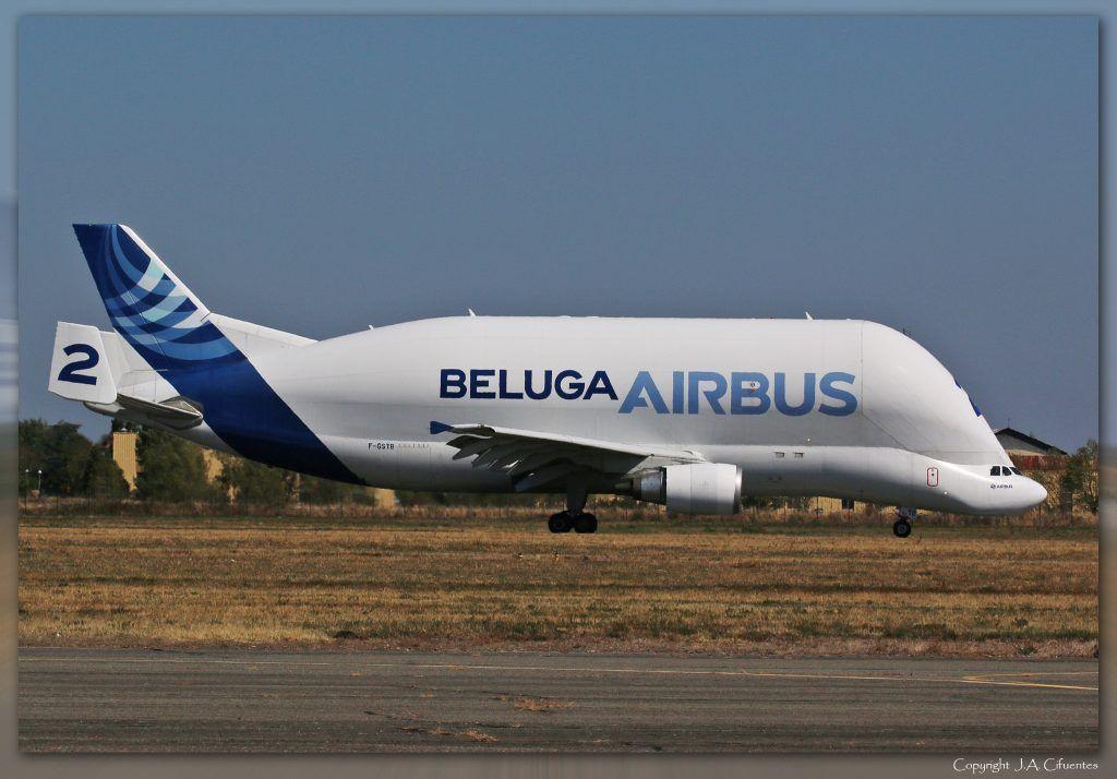 Airbus A300-600ST Beluga.