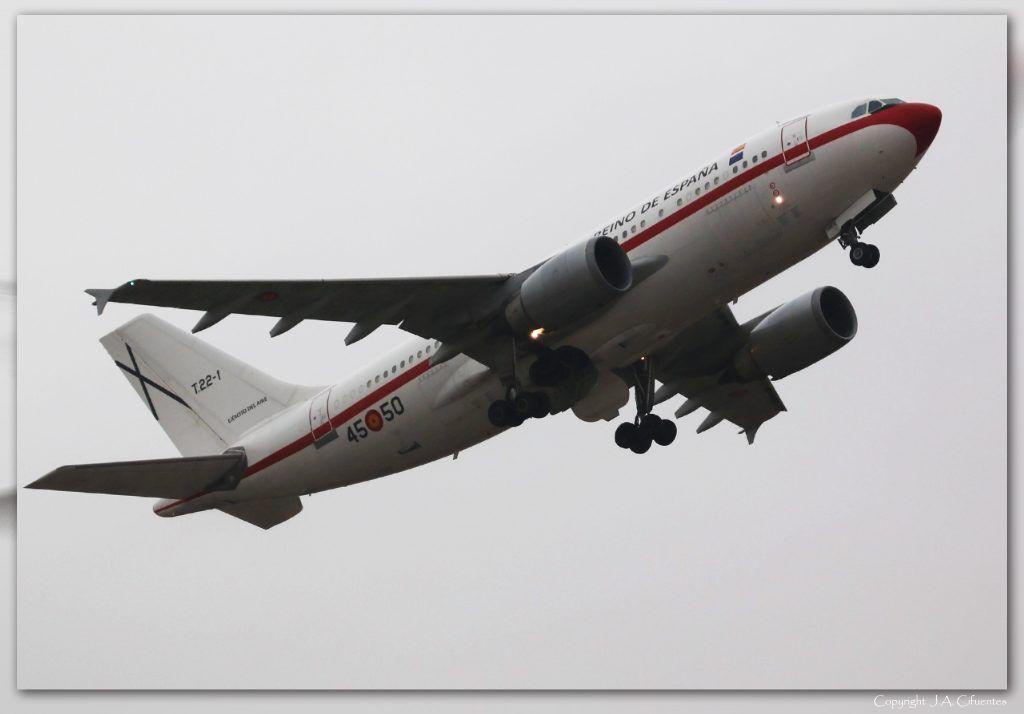 T.22-1 – Airbus A310-304 del Ejercito del Aire.
