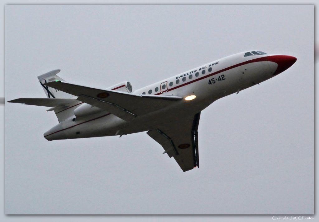 T.18-3 – Dassault Falcon 900 del Ejercito del Aire.
