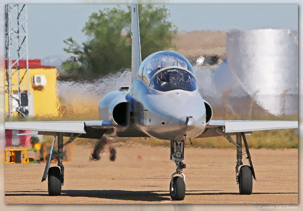 Northrop F-5B del Ala 23 del Ejército del Aire.