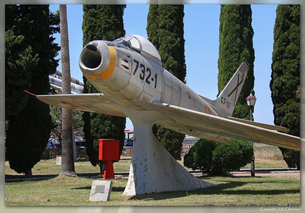 "North American F-86F ""Sabre""."