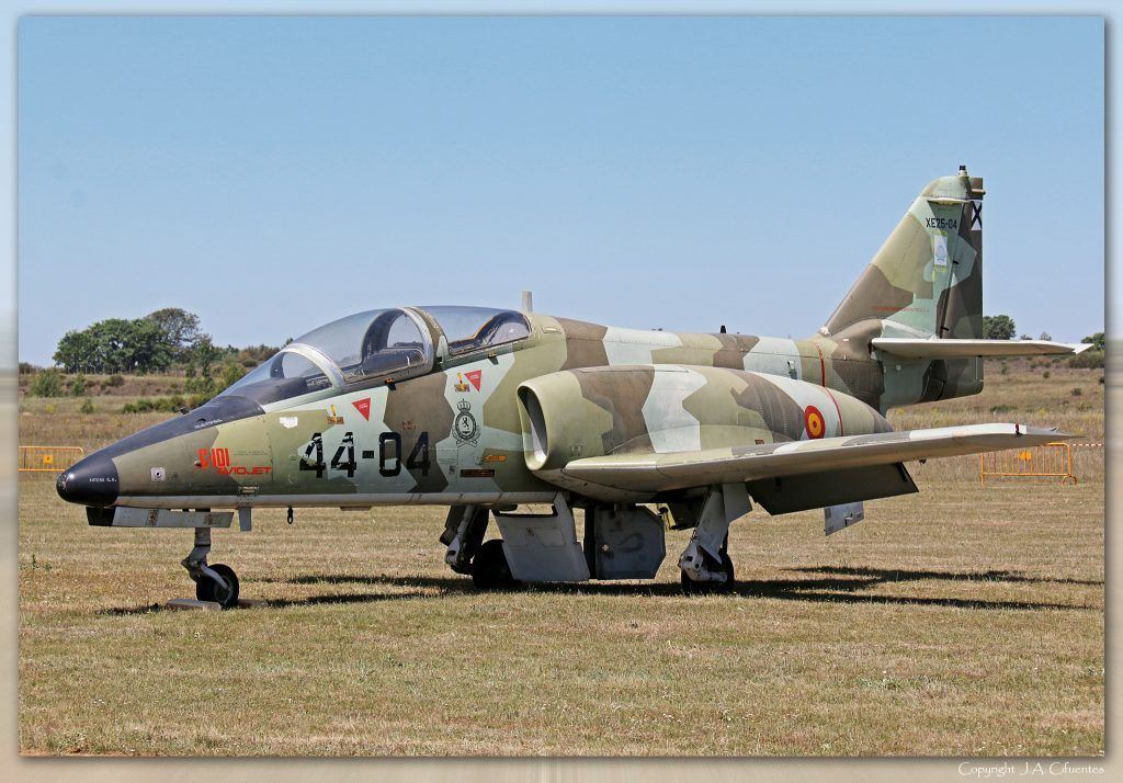 "CASA C-101 ""Aviojet"". Prototipo XE-25.04."
