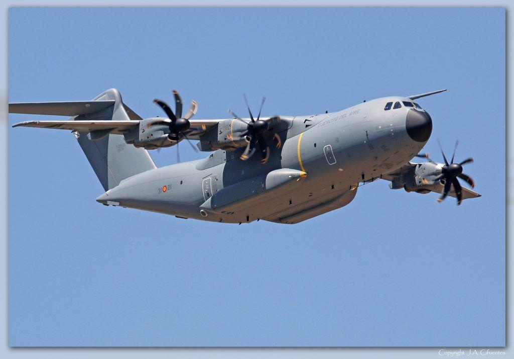 Airbus A400M Atlas (T.23-21) del Ejército del Aire.