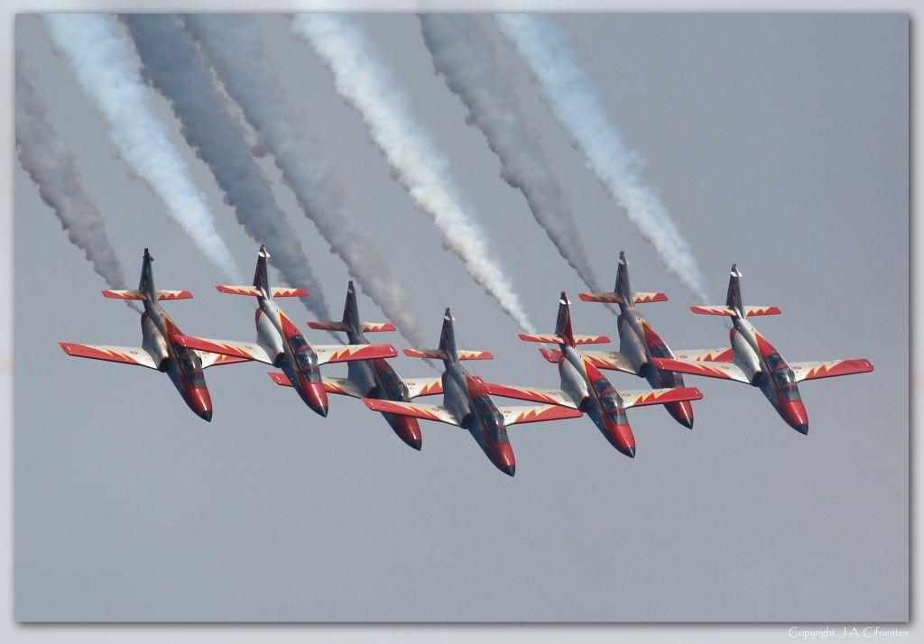 """CASA C-101 """"Aviojet"""" de la Patrulla Águila."""
