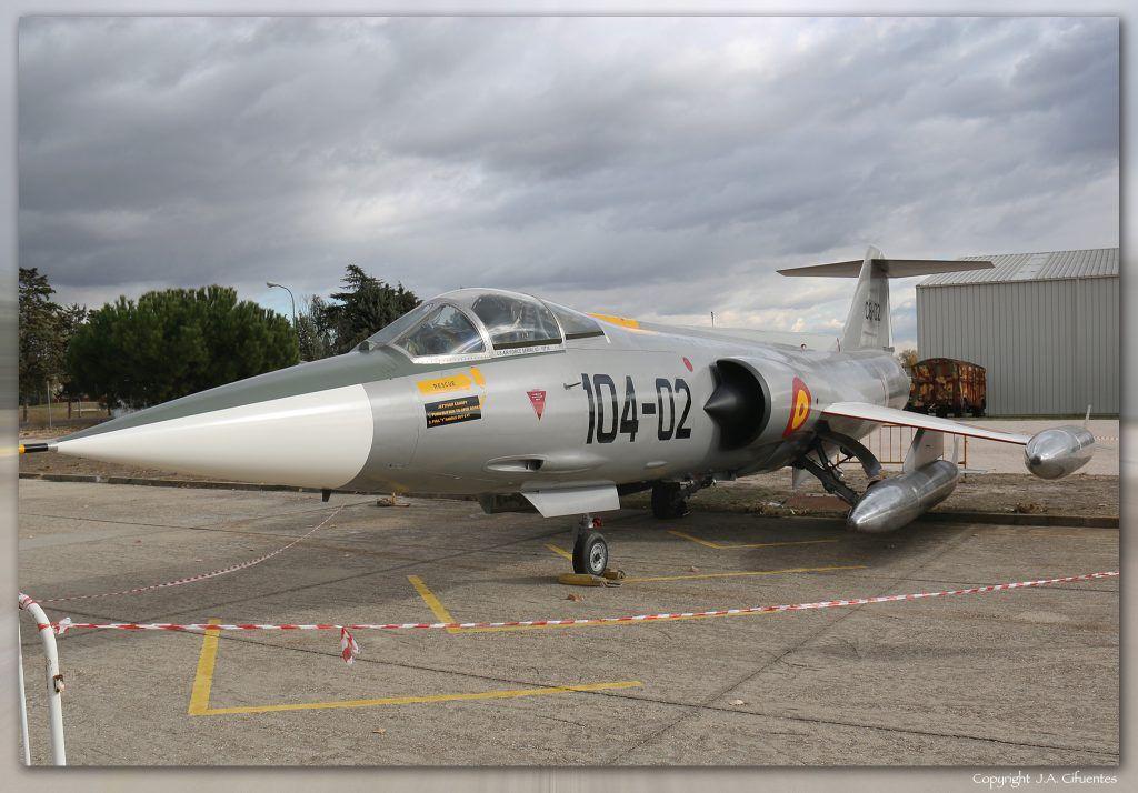 Lockheed F-104 «Starfighter».