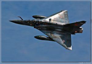Mirage 2000D «Couteau Delta» de l'Armée de l'Air.