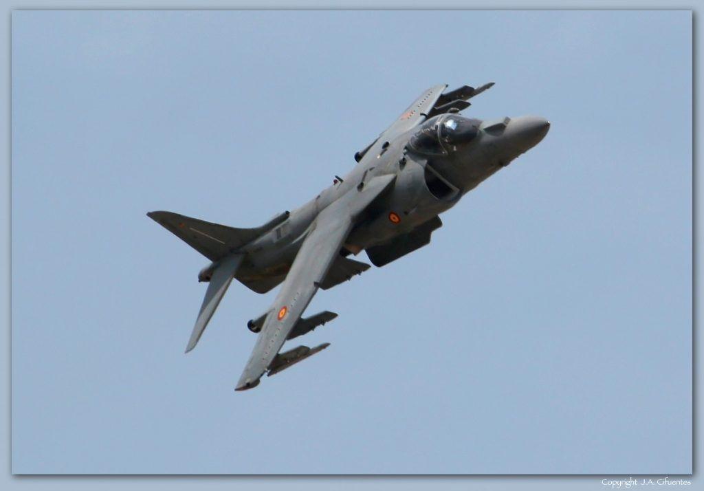 AV-8B Harrier II Plus de la Armada Española.