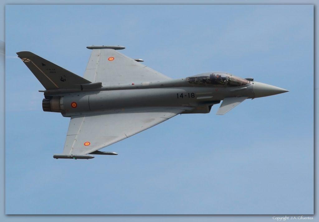 EF-2000 EFA Eurofighter Typhoon del Ejercito del Aire.