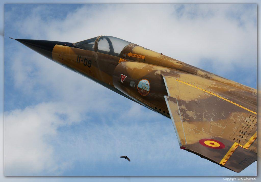 Monumento Mirage F-1.
