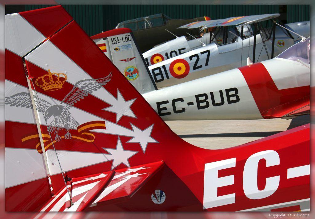 Aviones de la FACV.