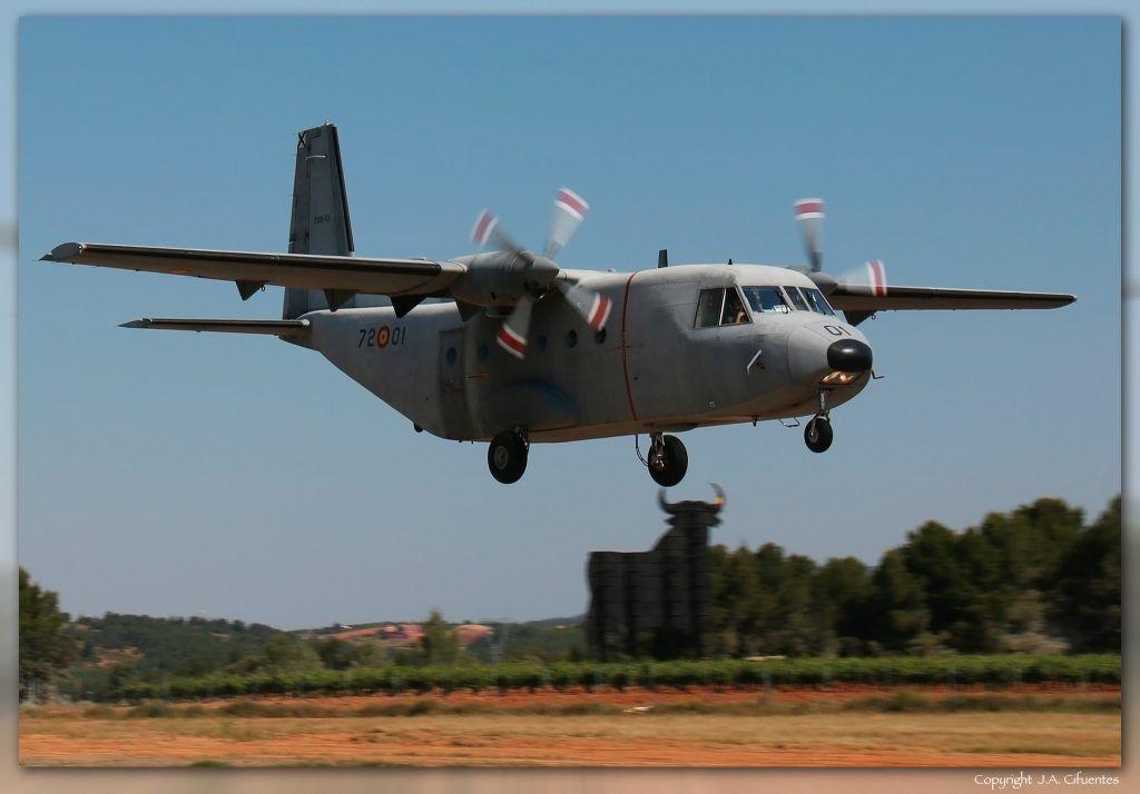 CASA C-2012 Aviocar del Ejercito del Aire.