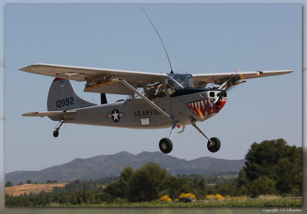 Cessna L19 Bird Dog (EC-MAB) de José Luis Olias.