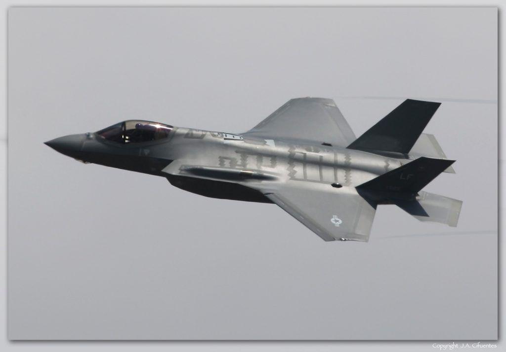 Lockheed Martin F-35 Lightning II de la USAF.