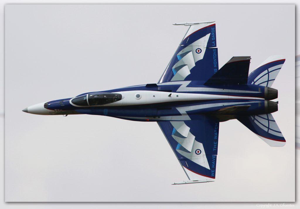McDonnell Douglas CF-18 de la RCAF.