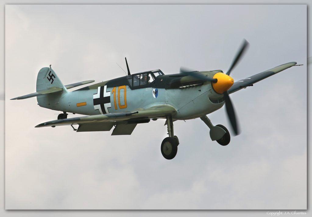 Hispano HA-112 MIL Buchon (G-AWHK).