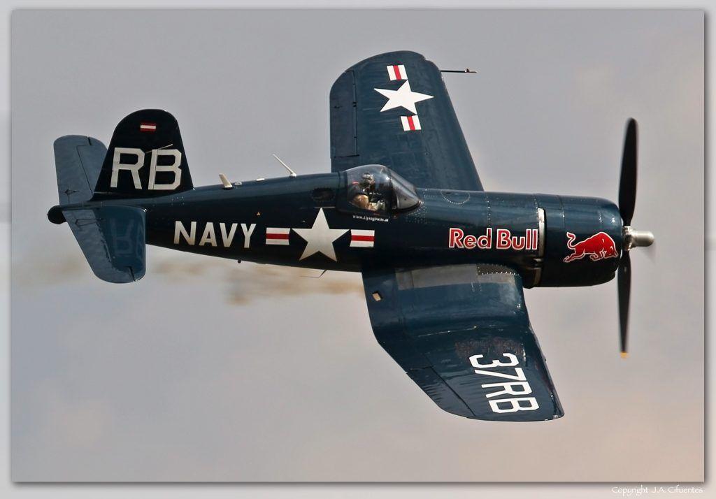 Chance Vought F4U-4 'Corsair' (OE-EAS).