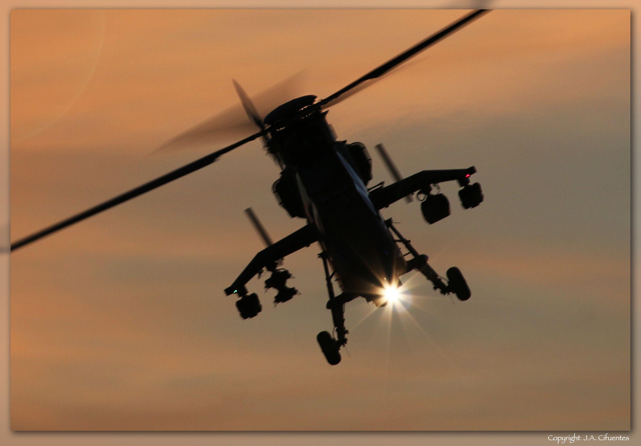 urocopter EC665 Tigre de las FAMET del Ejercito de Tierra.