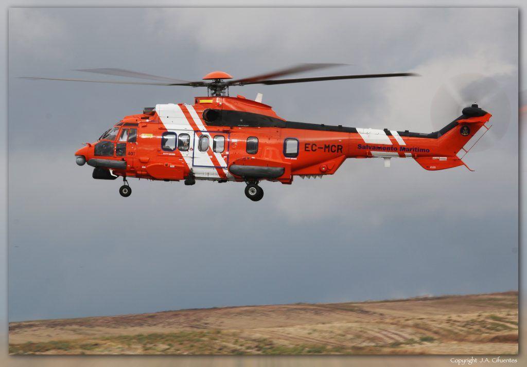 EC-MCR - Airbus Helicopters EC225 LP Super Puma de Salvamento Maritimo.