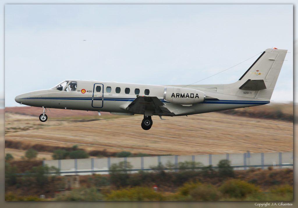 U20-1 / 01-405 Cessna 550 Citation de la Armada.