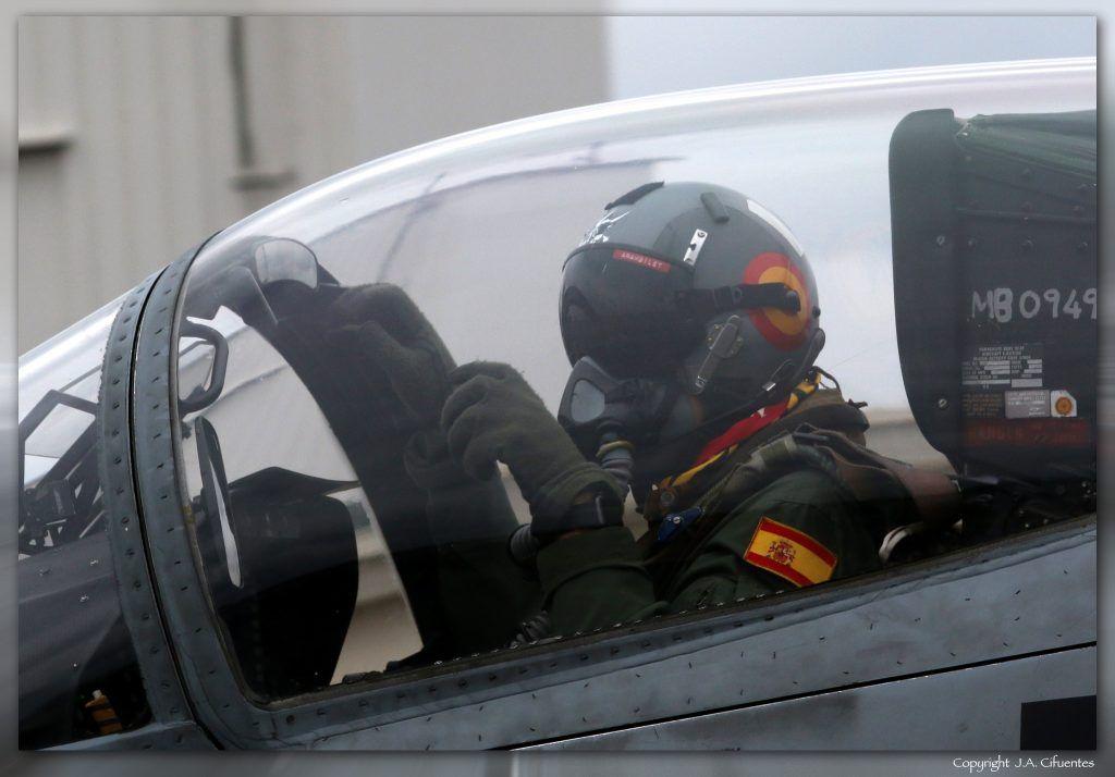EF-18 Hornet del Ala 15 del Ejército del Aire.