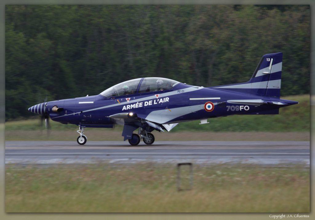 Pilatus PC-21 de l'armée de l'Air.