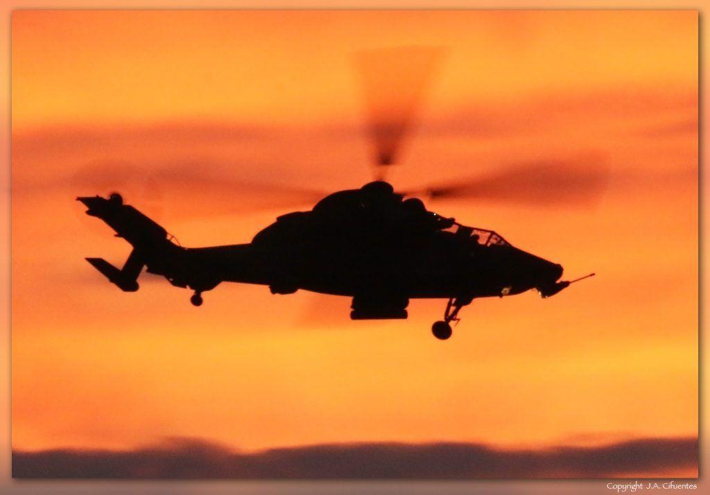 Eurocopter EC665 Tigre de las FAMET del Ejercito de Tierra.