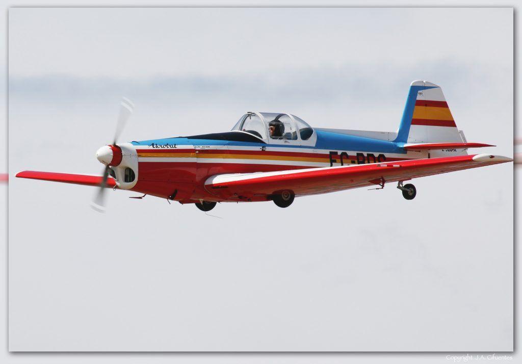 Zlin Z526 Akrobat de la Fundació Parc Aeronautic de Catalunya.