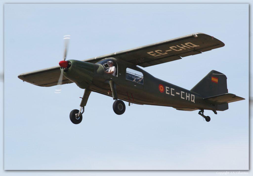 Dornier 27 de la Fundació Parc Aeronautic de Catalunya.